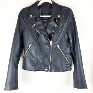 blanknyc life changer leather moto jacket med NWOT